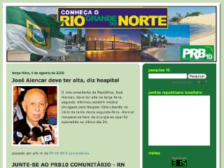 Thumbnail do site PRB10 Rio Grande do Norte