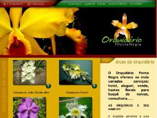 Thumbnail do site Orquidário Ponta Negra