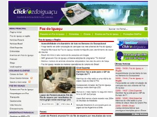 Thumbnail do site Click Foz do Iguaçu