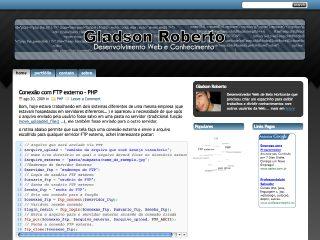 Thumbnail do site Gladson Roberto