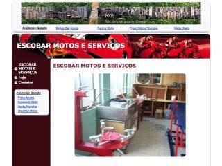 Thumbnail do site Escobar Motos e Serviços