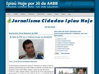 Thumbnail do site Ipiaú Hoje