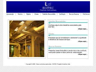 Thumbnail do site EGITEC - Projetos Industriais