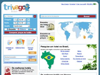Thumbnail do site Trivago Brasil