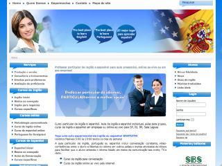 Thumbnail do site Curso Online de Inglês