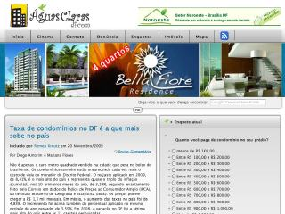 Thumbnail do site Portal de Águas Claras