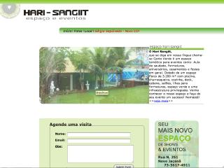 Thumbnail do site Hari-Sangiit - espaço & eventos