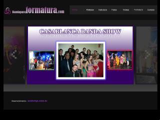 Thumbnail do site Banda para Formatura