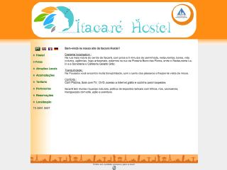 Thumbnail do site Itacare Hostel