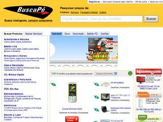 Thumbnail do site Buscapé