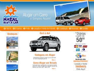 Thumbnail do site Natal Rent a Car