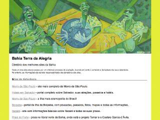 Thumbnail do site Bahia terra