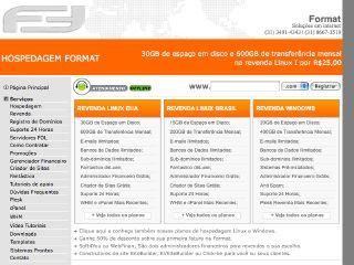 Thumbnail do site Format Online WebHost