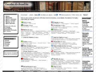 Thumbnail do site Escolas.do-Brasil.biz