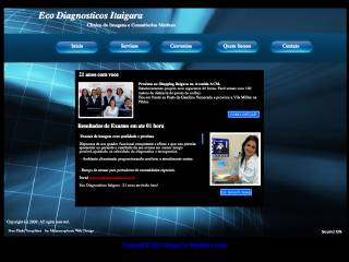 Thumbnail do site Eco Diagnósticos Itaigara - Clínica de Imagens