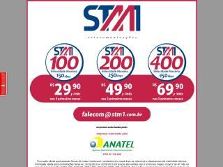 Thumbnail do site STM1 Comunicações