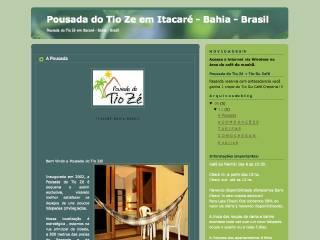Thumbnail do site Pousada do Tio Zé