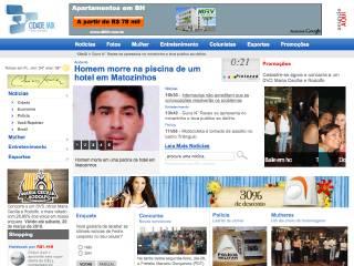 Thumbnail do site CidadeMix Pedro Leopoldo