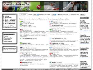 Thumbnail do site Esportes.do-Brasil.biz