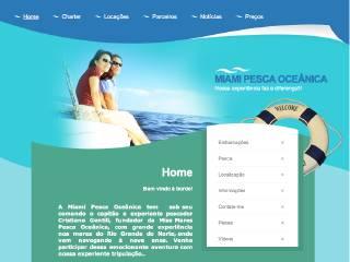 Thumbnail do site Miami Pesca Oceânica