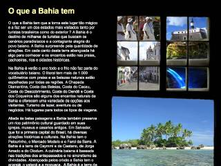 Thumbnail do site BahiaTerra.tur.br
