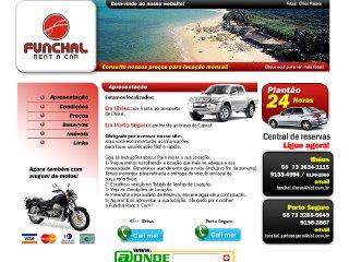 Thumbnail do site Funchal Rent a Car