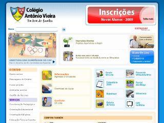 Thumbnail do site Colégio Antônio Vieira