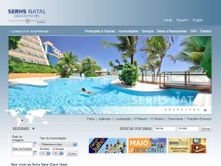 Thumbnail do site Serhs Natal Grand Hotel