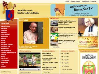 Thumbnail do site Arquidiocese de São Salvador