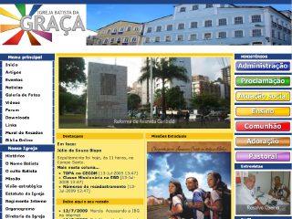 Thumbnail do site Igreja Batista da Graça
