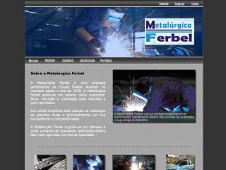Thumbnail do site Metalúrgica Ferbel