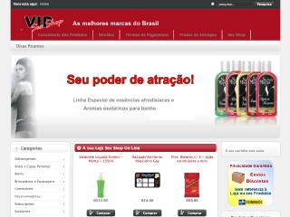Thumbnail do site VIP Sex Shop
