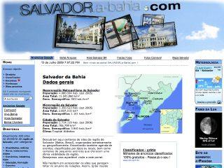 Thumbnail do site Salvador.a-Bahia.com : Portal da região de Salvador