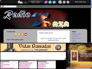 Thumbnail do site Radio Zaza