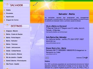 Thumbnail do site Emtursa.com.br - Turismo em Salvador