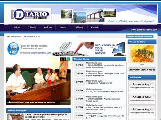Thumbnail do site O Diário da Bahia