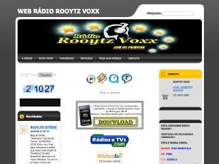 Thumbnail do site Web Rádio Rooytz Voxx