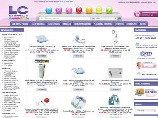 Thumbnail do site Lcmed Equipamentos para Medicina e Estética