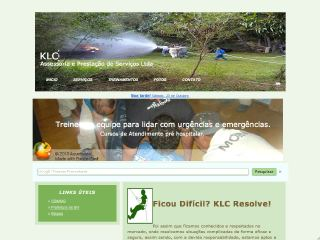 Thumbnail do site KLC Assessoria e Prestação de Serviços