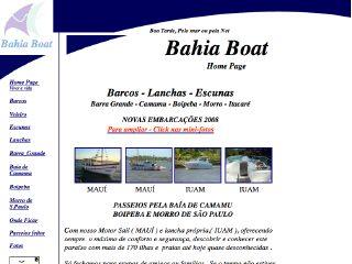Thumbnail do site Bahia Boat (Grupo Mucuge)