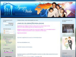 Thumbnail do site Padre Lucas Macieira