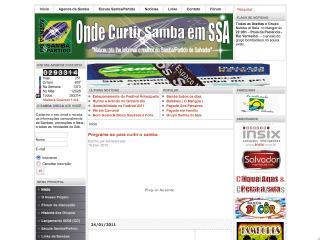 Thumbnail do site Onde Curtir Samba