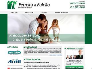 Thumbnail do site Ferreira & Falcão Corretora de Seguros