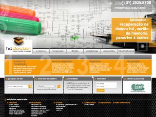 Thumbnail do site HDDoctor - Recuperação de dados
