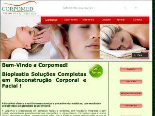 Thumbnail do site CorpoMed - Medicina & Estética