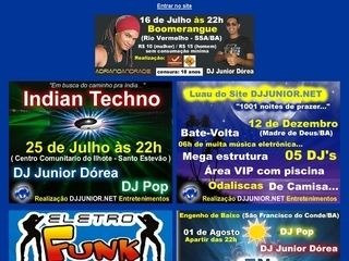Thumbnail do site DJ Júnior.net