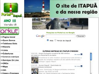Thumbnail do site Portal de Itapuã