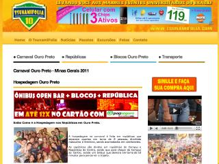 Thumbnail do site Carnaval de Ouro Preto