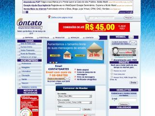 Thumbnail do site Contato - Soluções Internet e Mídia Interativa
