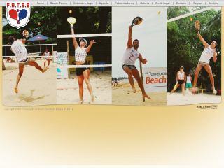 Thumbnail do site F.B.T.E.B. - Federação de Beach Tennis do Estado da Bahia